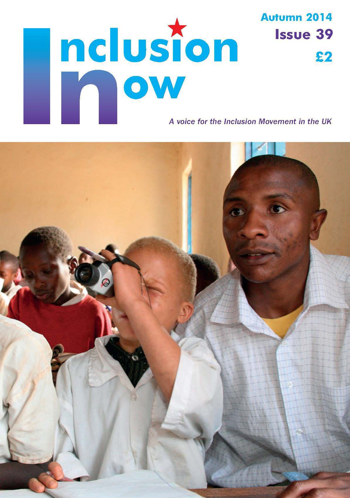 Inclusion Now front Cover